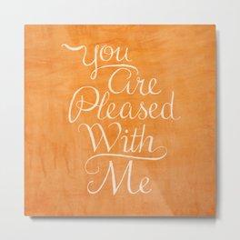 Psalm 41 Metal Print