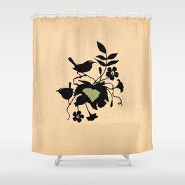 South Carolina - State Papercut Print Shower Curtain