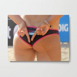 Bikini Metal Print