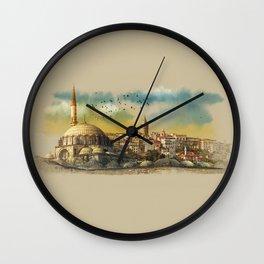 dawn in Istanbul Wall Clock