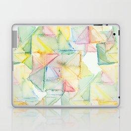 Watercolor Triangle Pattern - Katrina Niswander Laptop & iPad Skin