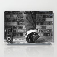 old school iPad Cases featuring old school by Jennifer Townsend