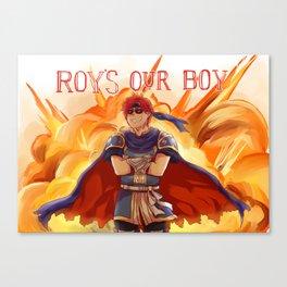 ROY'S OUR BOY Canvas Print