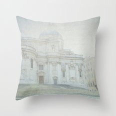 Letters From Roma - Rome Throw Pillow