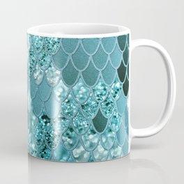 Mermaid Glitter Scales #4 #shiny #decor #art #society6 Coffee Mug