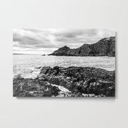Blowhole Beach Metal Print