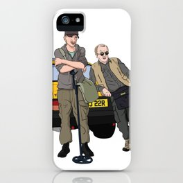 Detectorists - Lance & Andy - DMDC iPhone Case