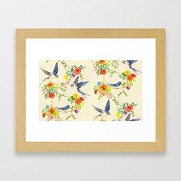 Summer Roundelay Framed Art Print