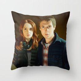 Doctor Who - Night Terrors Throw Pillow