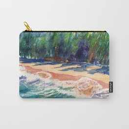 Kauai North Shore Beach 2 Carry-All Pouch