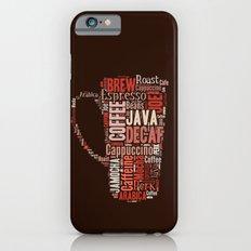 Coffee Lovers Slim Case iPhone 6s