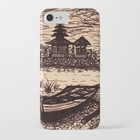 bali iPhone & iPod Cases featuring Bali Boating by Erica Putis