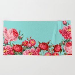 Fab Floral Beach Towel