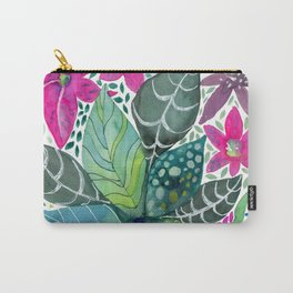 Leafy Tropical Carry-All Pouch