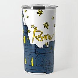 Rome Italy Colosseum Starry night Travel Mug