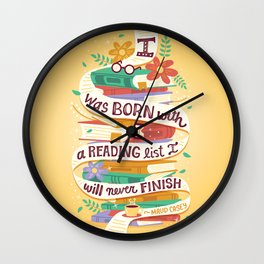 Reading list Wall Clock