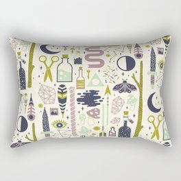 The Witch's Collection Rectangular Pillow