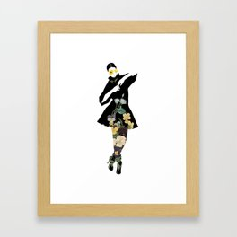 The joy of dressing, Art Prints by dayDREAM - MMS 648 Framed Art Print