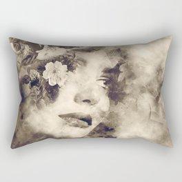 Vintage  time Rectangular Pillow