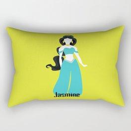Jasmine from Aladdin Disney Princess Rectangular Pillow