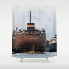 John Sherwin Freighter Shower Curtain