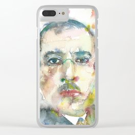 IGOR STRAVINSKY - watercolor portrait.1 Clear iPhone Case