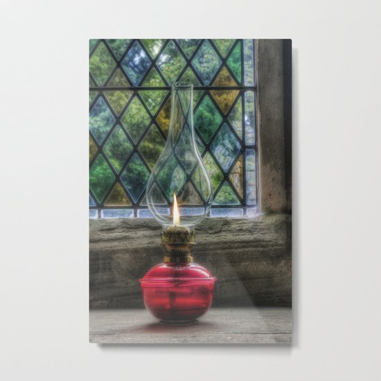 Eternal Flame Metal Print