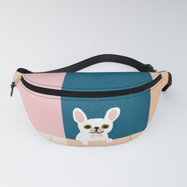 Little_French_Bulldog_Love_Minimalism_001 Fanny Pack