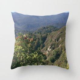 Castle Rock State Park - California Throw Pillow
