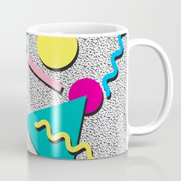Abstract 1980's Coffee Mug