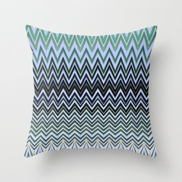 Coconut Palm Maldives Throw Pillow