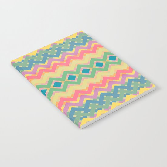 Summer-color Pattern Notebook