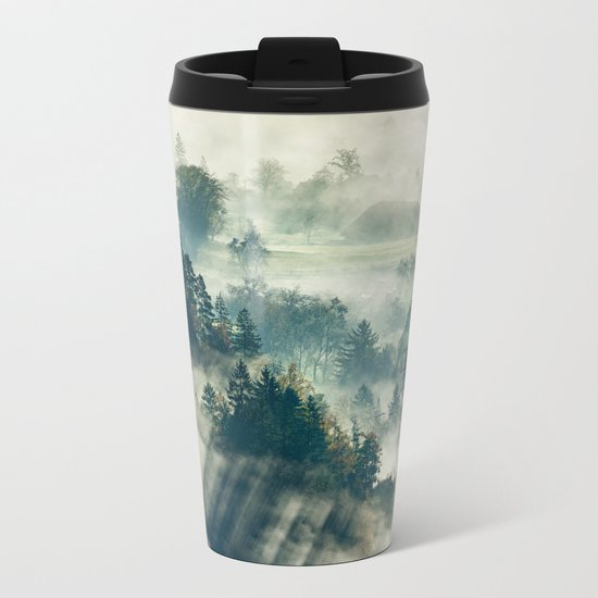 Return to the Mist Metal Travel Mug