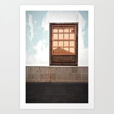 overdose de rectangles Art Print