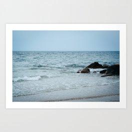 Rocks, Town Beach 02 Art Print