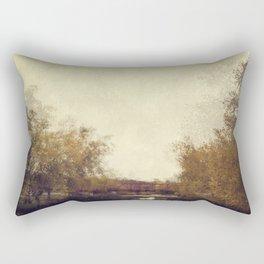 By The Riverside #1 Rectangular Pillow