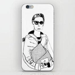 Bag Lady iPhone Skin