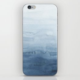 Indigo Abstract Painting | No. 5 iPhone Skin