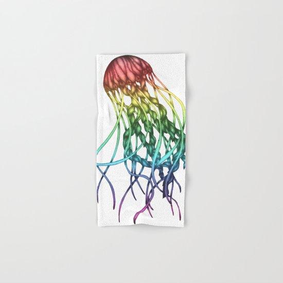 Rainbow Jelly Hand & Bath Towel
