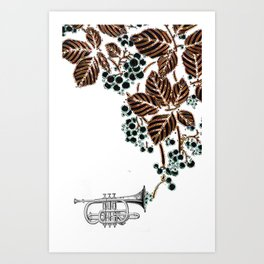cornet. #2 Art Print