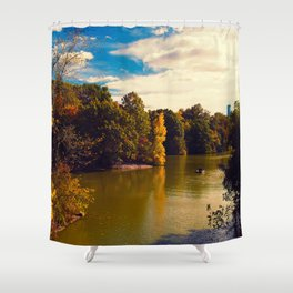 Central Park New York ic Shower Curtain