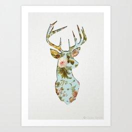 HEY DEER Art Print