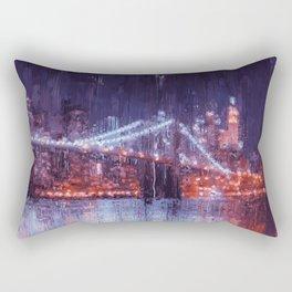 New York Panorama Rectangular Pillow
