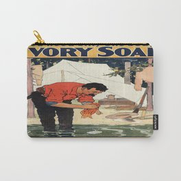 Vintage poster - Soap Carry-All Pouch