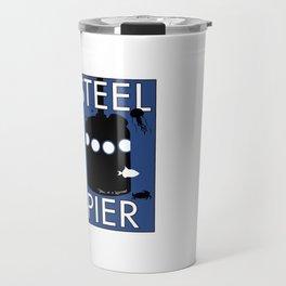Atlantic City, NJ ~ Steel Pier Diving Bell Travel Mug