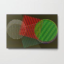 2406 Pattern evolution 4 Metal Print