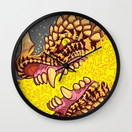 I See Fire Wall Clock