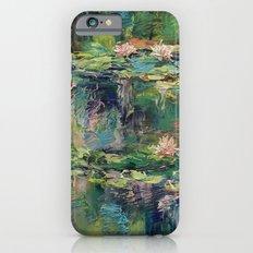 Water Lilies Slim Case iPhone 6s