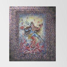 Ardhnarishwar Throw Blanket