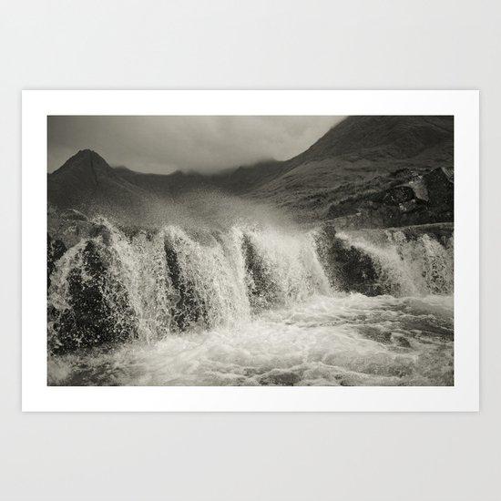 Gaelic winter Art Print